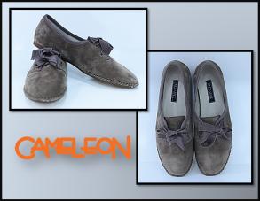 pantofi usori din piele intoarsa