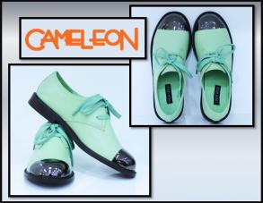pantofi verde fistic